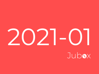 Playlist Jubox Janvier 2021