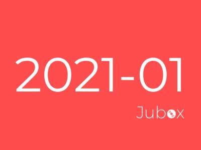 Playlist Jubox Janvier 2021
