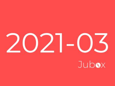 Playlist Mars 2021 Jubox