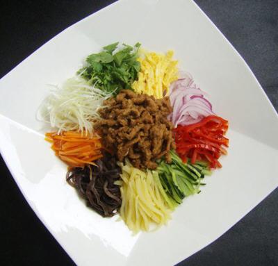 正宗東北大拉皮的做法教你怎么做好吃-聚餐網