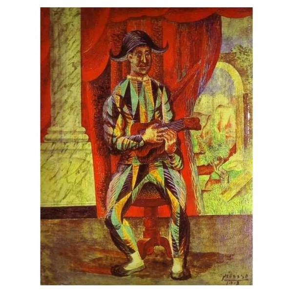 Pablo Picasso Harlequin Paintings