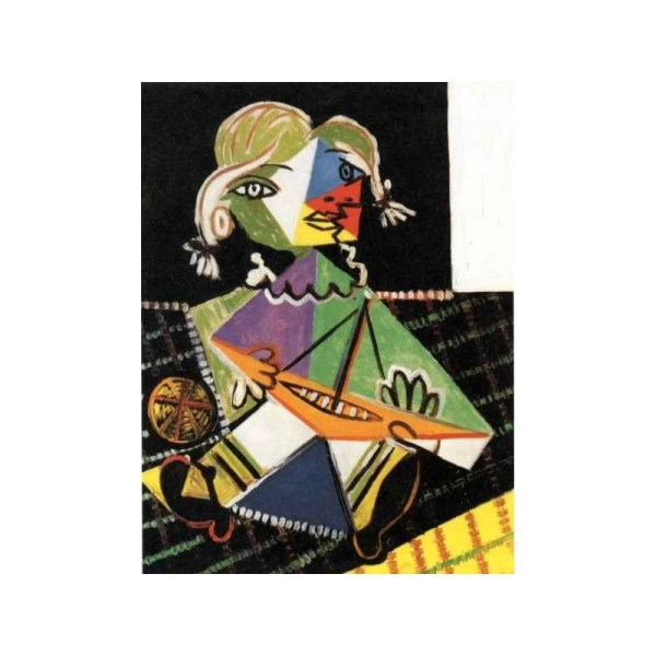"""""""girl With Boat 1938"""" Pablo Picasso Oil Painting Reproductions"""