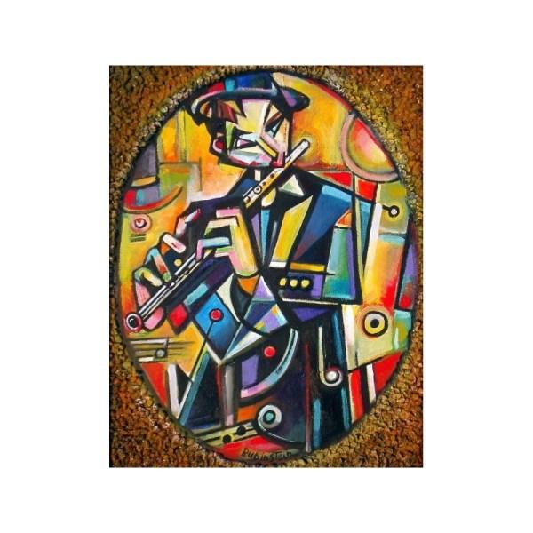 Jewish Modern Art Painting