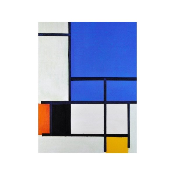 """""""composition With Red Yellow And Grey"""" Piet Cornelies"""