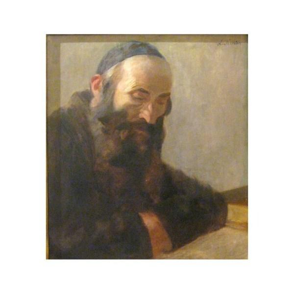Rabbi Oil Paintings