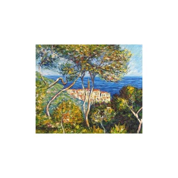 """bordighera"" Claude Oscar Monet Oil Painting"