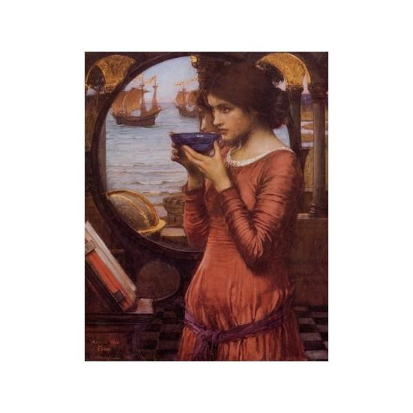 Destiny 1900 John William Waterhouse-art Oil Painting