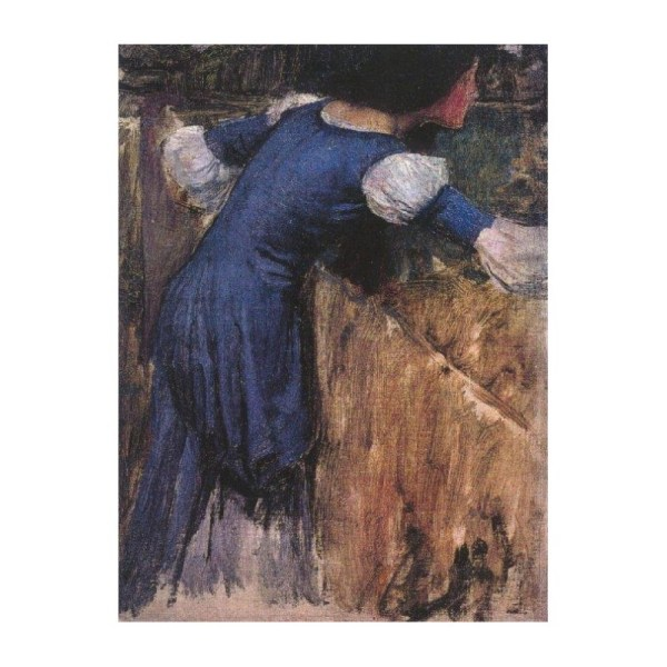 """picking Flowers Study 1900"" John William Waterhouse"