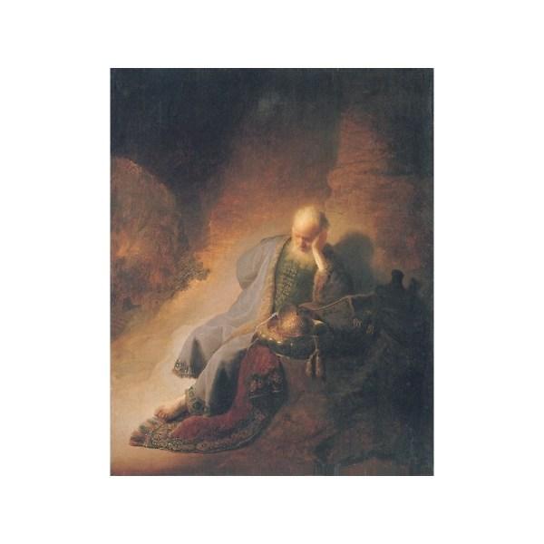 """jeremiah Lamenting Destruction Of Jeruselem 1630"""