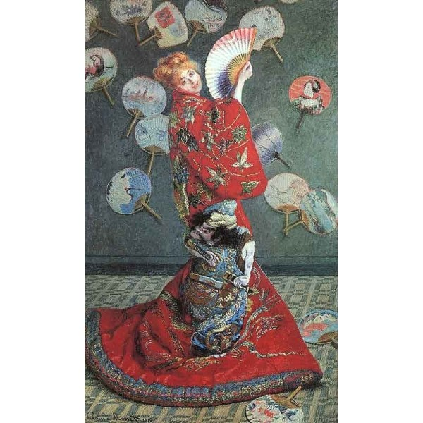 """la Japonaise Costume"" Claude Oscar Monet Oil"