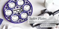 Disposable Seder Plates & Plastic Seder Plate - Disposable ...