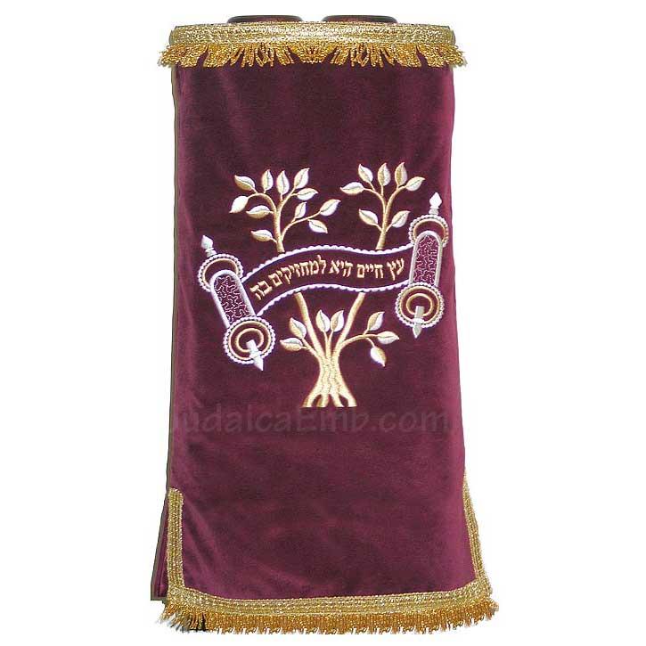 Torah Covers  Tree of Life Torah Cover M107M