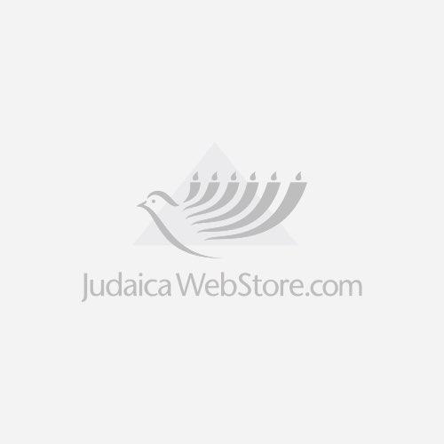 Stone Sterling Silver Hoshen Necklace Jewish Jewelry