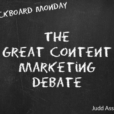 the great content marketing debate