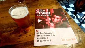 Bar à Bière Lyon : Le Galopin