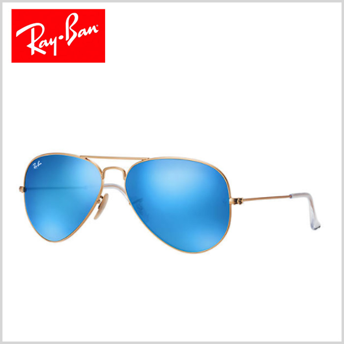 Ray Ban - AVIATOR FLASH LENSES - Men - Sunglasses - g