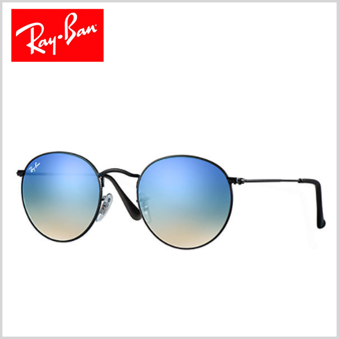 Ray Ban - ROUND FLASH LENSES GRADIENT - Women - Sunglasses - g