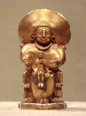 Hittite goddess and child 15th to 13th century BC © PHGCOM Wikimedia Commons