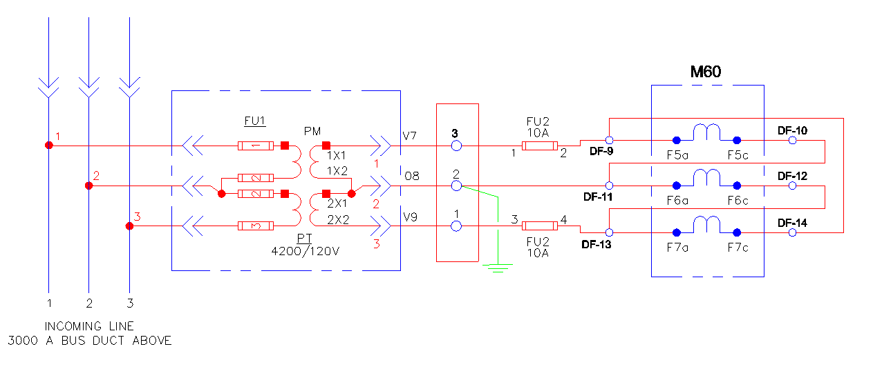 vt wiring diagram for a semi trailer plug what m60 phasor should look like open delta-open delta pt connection? « share knowledge