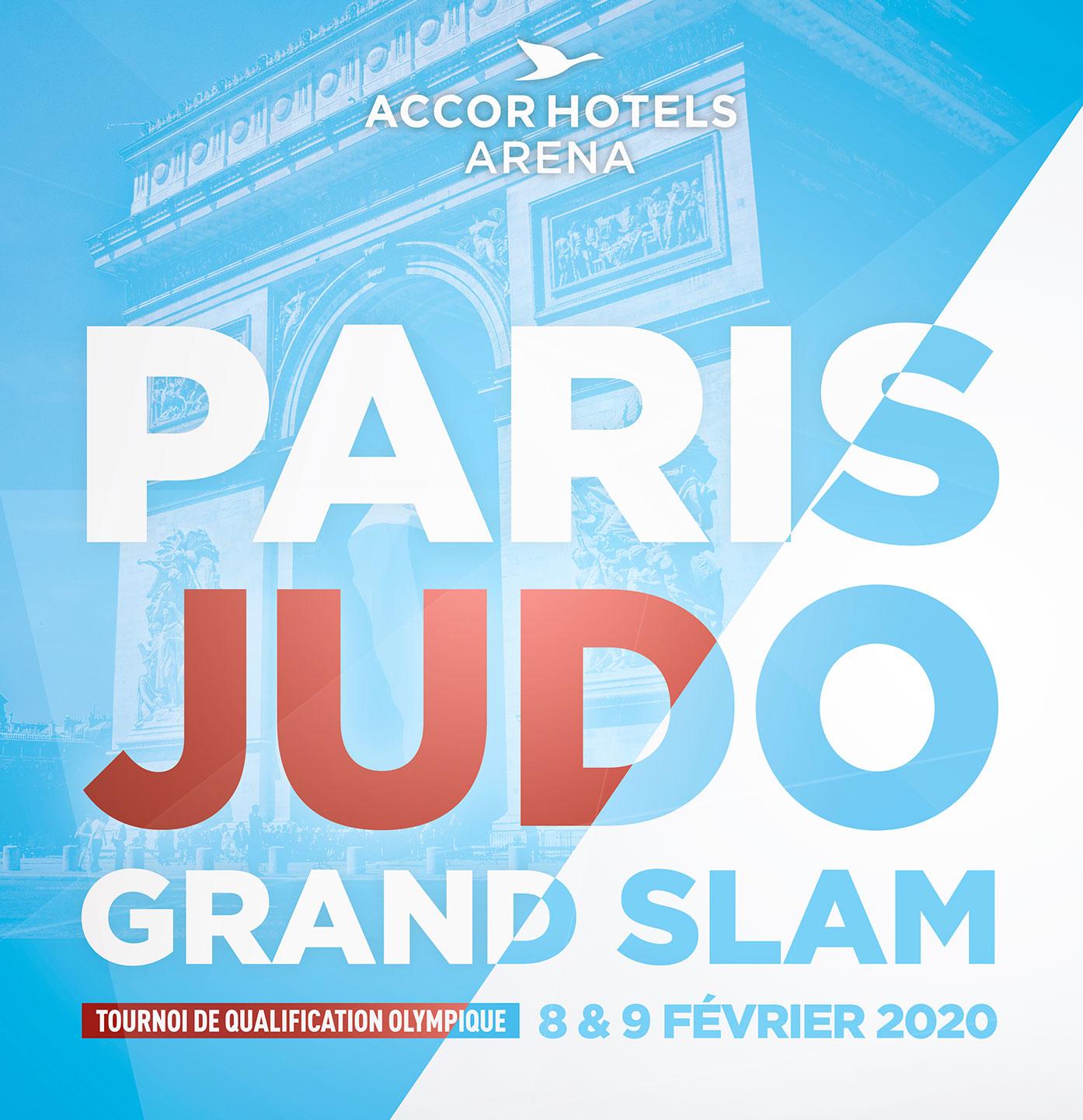 Déplacement au Grand Slam de Paris le 08/02/2020