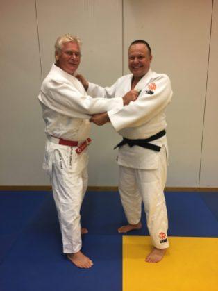 de mannen judo