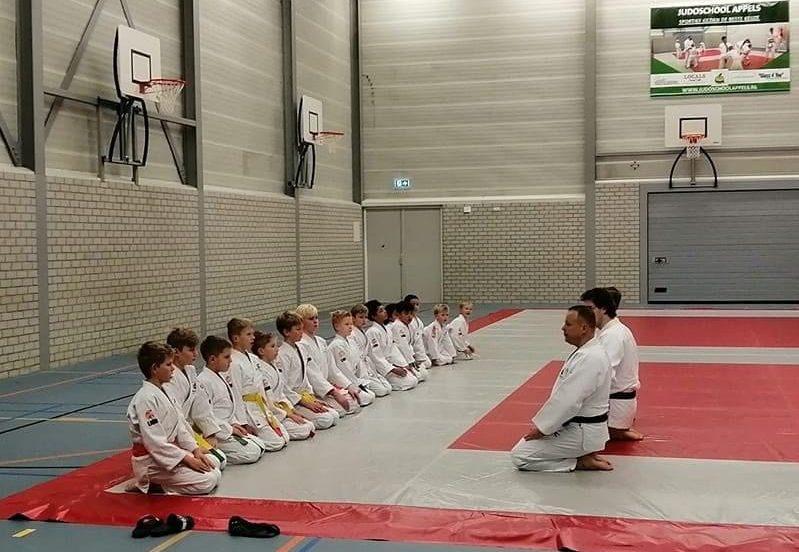 de judo zaal