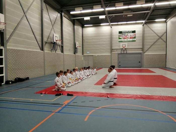 judoschool Appels op de mat