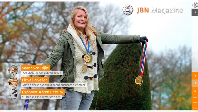 Het JBN Magazine Winter 2014