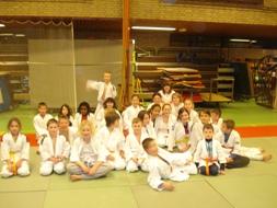 Judo-vriendjesles in Zijderveld
