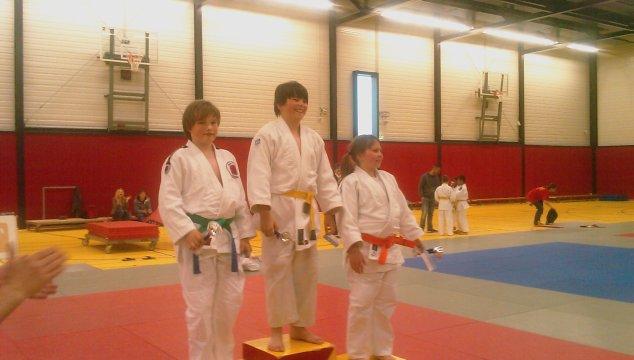 Veel Prijzen voor Judoka's in Culemborg