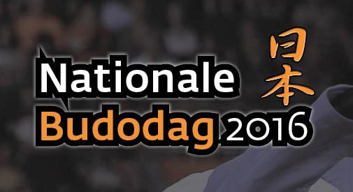 Nationale Budodag 2016 – Jij komt toch ook?!