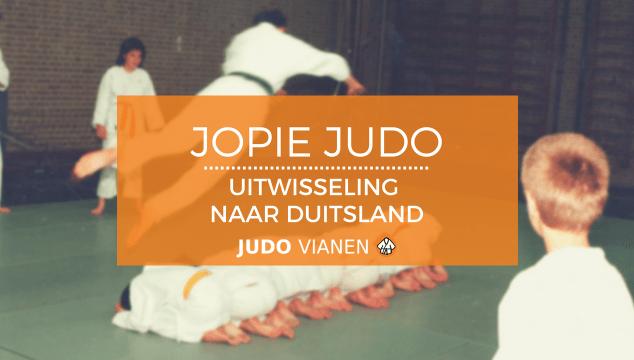 Jopie Judo 7 – Uitwisseling naar Duitsland