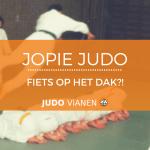 Jopie Judo 9 -Fiets op het dak?!