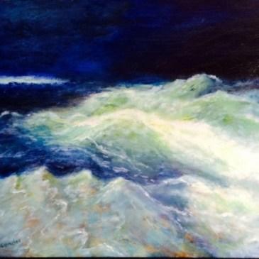 In between the waves