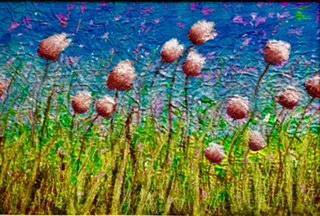 Textile into Paint