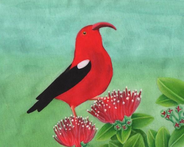 Painting Hawaiian Fauna