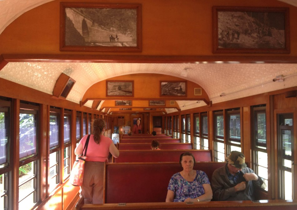 kuranda train car