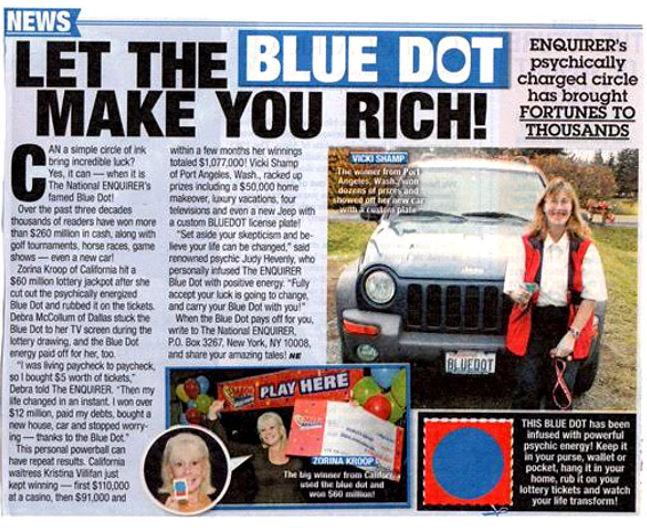 Blue Dot, Judy Hevenly
