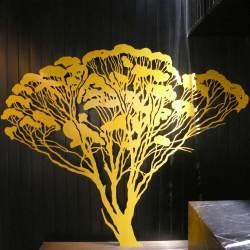 Yirridja Owns Yellow, 2400 X 3550 X 400 Mm, Powdercoated Steel, 2009