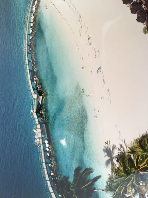 Touring Paradise island in the bahamas