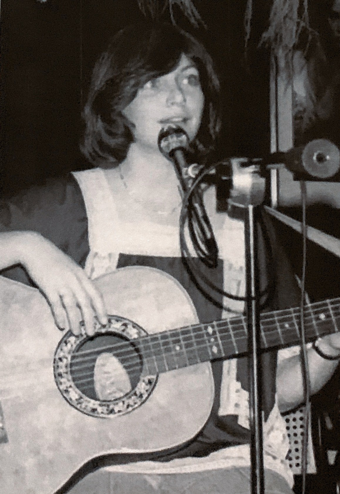 Me Playing a gig at 22