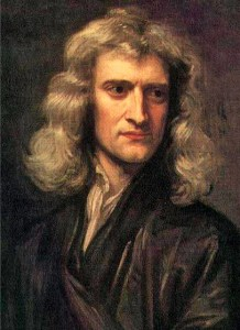 Portrait of Isaac Newton (1642-1727) by Sir Godfrey Kneller, 1689.