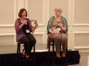 My interview at the Debut Author's Breakfast.