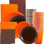jam-paper-grad-party-supply-assortment-pack-plates-napkins-cups-tablecloth-orange-and-brown