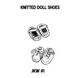 Judy's Corner American Doll knit patterns for 18