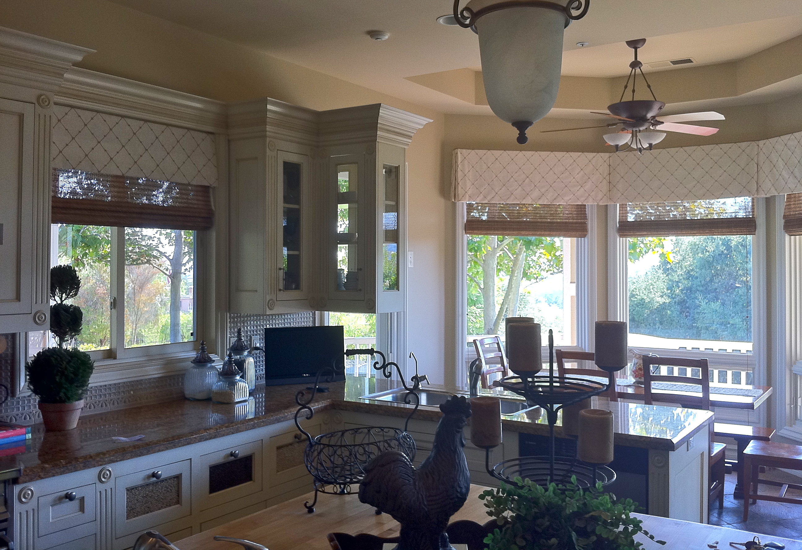 kitchen window valances cannisters before and after treatments  judy 39s