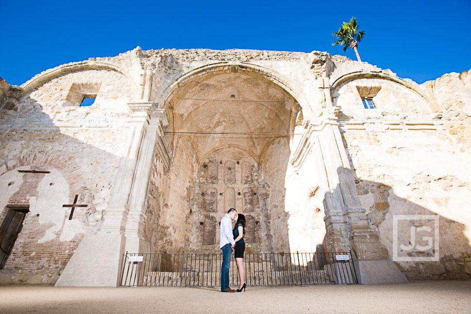 Mission San Juan Capistrano Engagement Photography  My