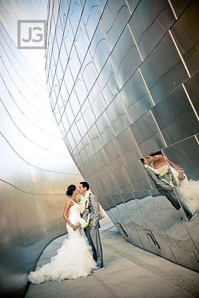 Walt Disney Concert Hall Wedding Photography  Mekela  Jason JG Wedding Photography Blog