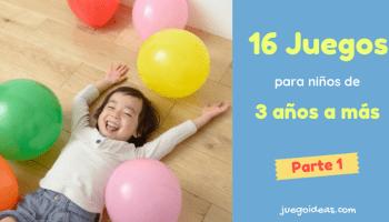 15 Juegos Para Ninos De 2 A 3 Anos Juegoideas
