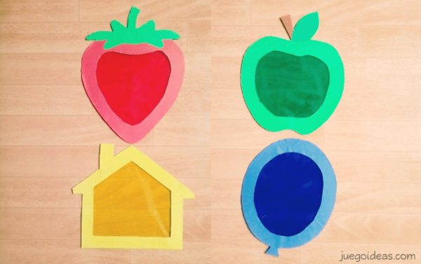 Juguete DIY: Pantallas de colores - con imprimible - JuegoIdeas